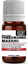 GAY ((Pheromone Max)) ATTRACT MEN Pheromone Scented Oil 60mg Maximum potency -Human Sex Pheromones - PhermaLabs
