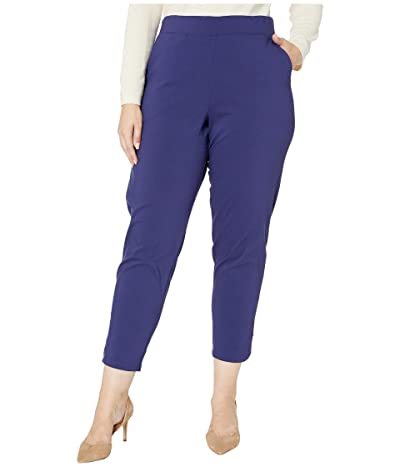 HUE Plus Size Temp Tech Trouser Leggings (Emperor) Women