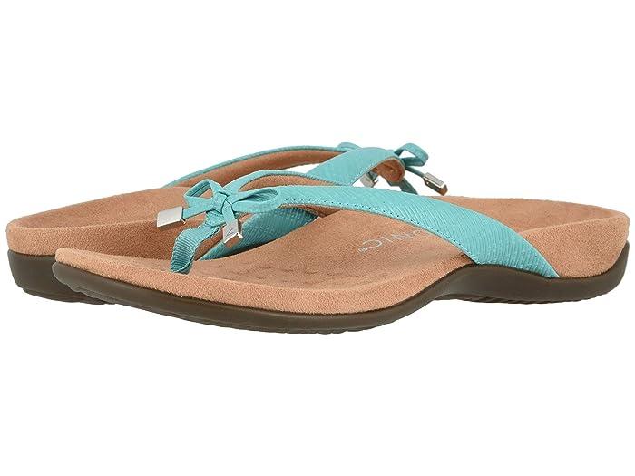 VIONIC  Bella II (Teal Woven) Womens Sandals
