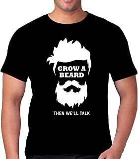 FMstyles - Grow a beard then we'll talk Unisex Tshirt