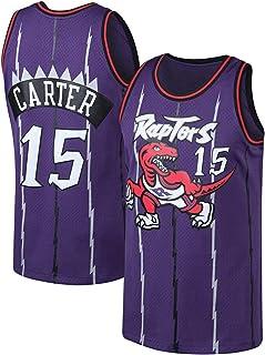 PANGOIE 15# Carter Basketball Jerseys Basketball Training Uniform Swingman Jersey Embroidery T-Shirts Vests for Men's Women