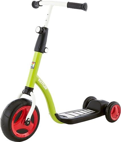 Kettler Kinderroller Kid's Scooter – cooler Kinder-Scooter – Kinderroller ab 2 Jahre mit h nverstellbarem Lenker – Roller mit drei R rn – Grün