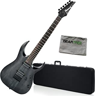 Ibanez RGAT62TGF RGA Standard Electric Guitar - Transparent Gray Flat w/Hard Ca