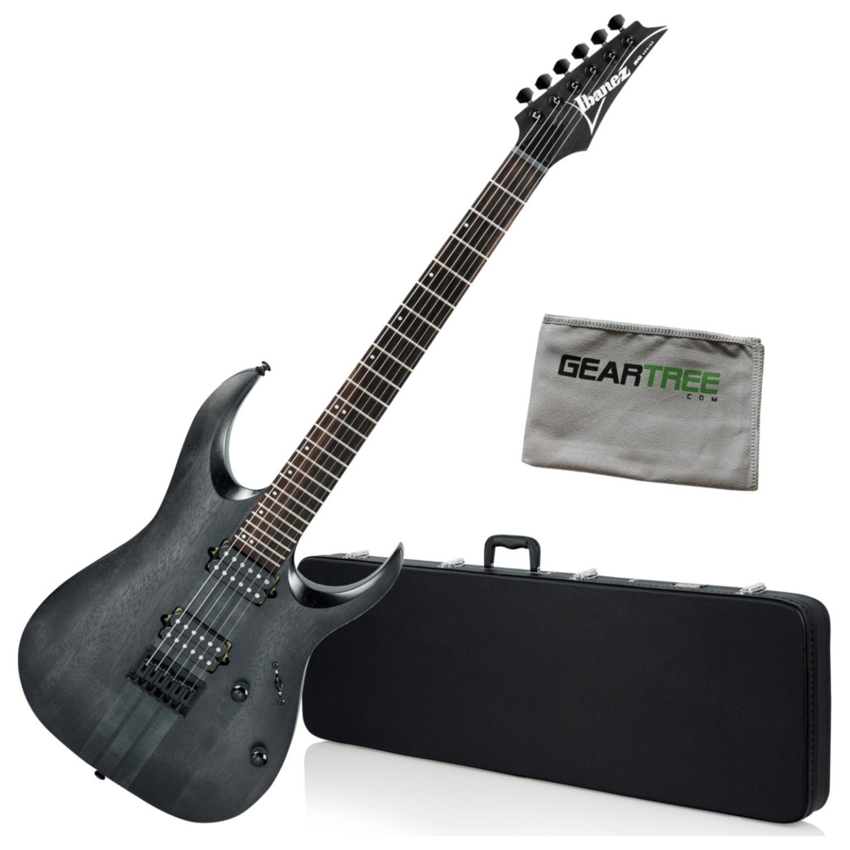 Cheap Ibanez RGAT62TGF RGA Standard Electric Guitar - Transparent Gray Flat w/Hard Ca Black Friday & Cyber Monday 2019