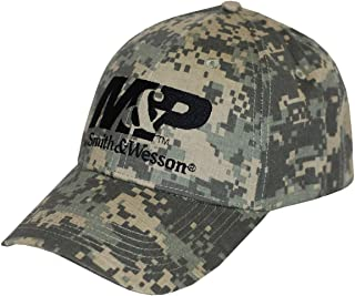 Smith Men's And Wesson Logo Embroidered Camo Cap Camouflage One Size