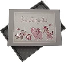 White Cotton Cards Nan's Boasting Book Tiny Photo Album Toys Range (Pink)