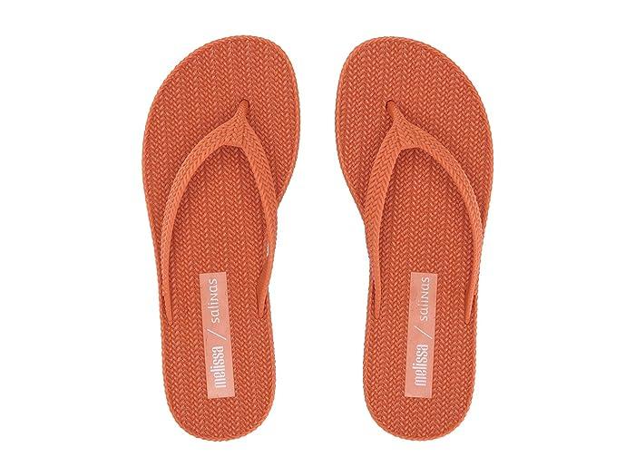 x Salinas Braided Summer Flip Flop Red