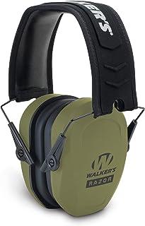 Walker's Razor Slim Passive Earmuffs Ultra Low Profile...
