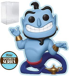 Disney: Aladdin - Genie with Lamp Glow-in-The-Dark Specialty Series Funko Pop! Vinyl Figure (Includes Compatible Pop Box Protector Case)