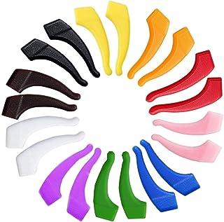 10 Pairs Silicone Anti-slip Holder for Eyeglass Ear Hook Grip Temple Tip Holder for Eyewear Kids Adults and Sports Eyewear Retainer Set