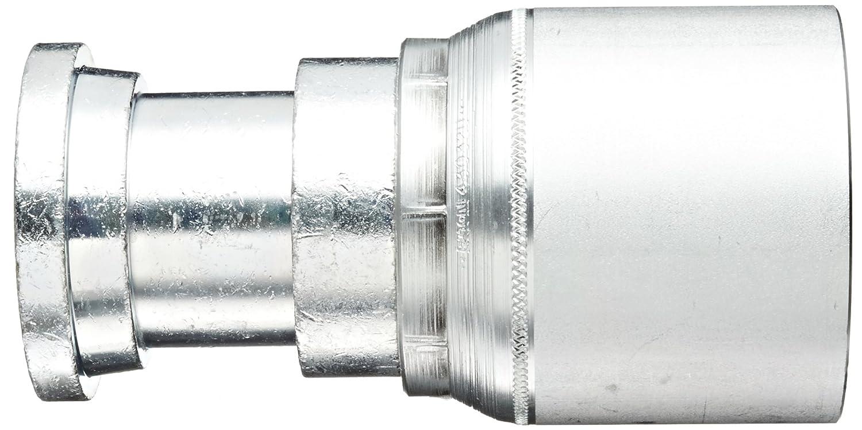 Steel EATON Weatherhead Coll-O-Crimp 43032U-D32 Split Flange Straight Fitting 2 Hose ID 2 Nominal Flange Size