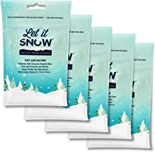 Let it Snow Instant Snow Powder Slime - #1 Artificial Fake Snow Slime Supplies - Made in The USA Non-Toxic Safe - Instant ...