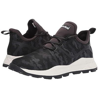 Timberland Brooklyn Fabric Oxford Sneakers (Black Mesh Camo) Men