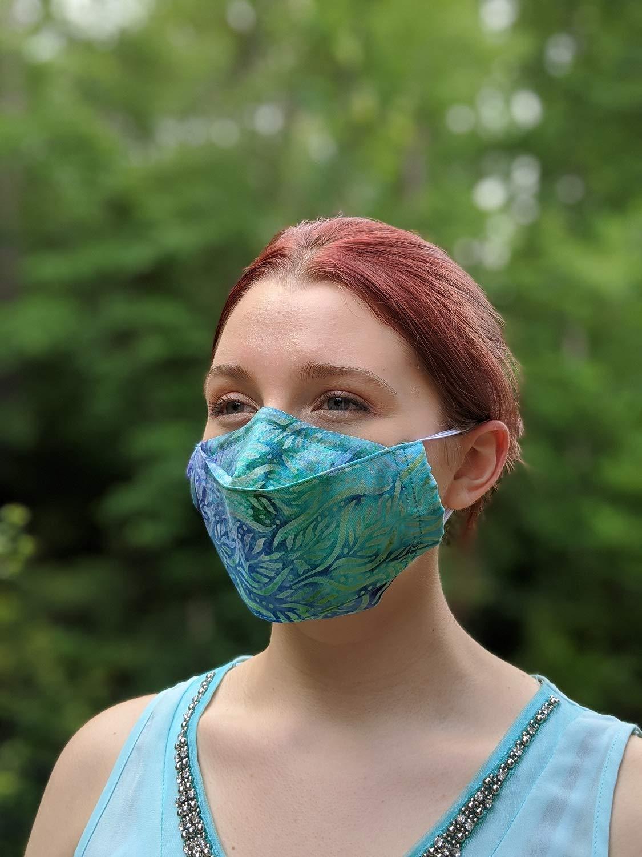 3D It is very popular Speaking face 3 layers Oklahoma City Mall batik-reusa -100% mask cotton handmade
