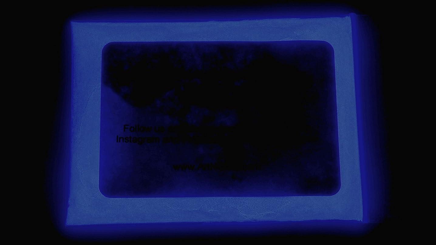 1 Ounce Glow in The Dark Powder (30 Grams) - Waterproof (Neutral Dark Blue)