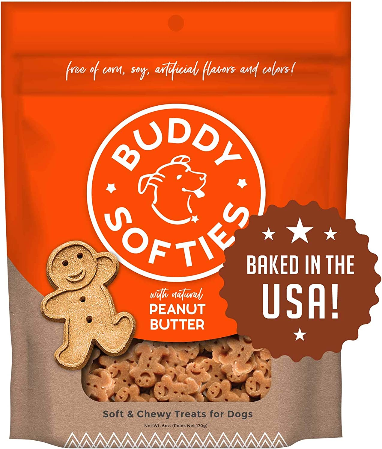 Buddy Biscuits Soft Chewy Treats Large Made Now free shipping Small discount for Dogs