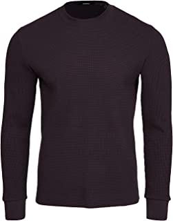 Men's Mattis Pullover in Waffle Knit Cotton