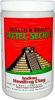 Aztec Secret Indian Healing Clay Deep Pore Cleansing Facial & Healing Body Mask The Original 100% Natural Calcium Bentonite Clay 2lb New