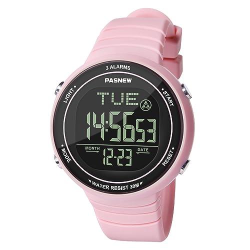 Hiwatch Reloj Deportivo LED Digital Gran Pantalla Relojes para Niños Niñas Estudiantes Jovenes y Simple Reloj