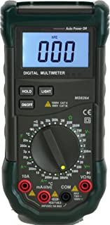 Mastech MS8264 Backlit 30-Range Digital Multimeter with Temperature Measurement (01DMMS8264)