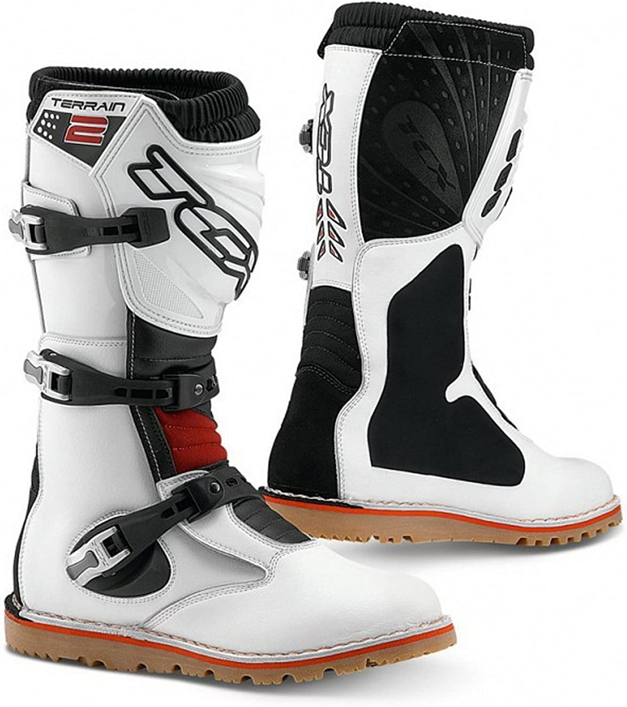 TCX Ny terrain 2 -provning Motorcycle Boots Boots Boots off -RoadVit  fabriksförsäljning