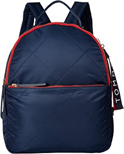 Kensington Quilt Nylon Backpack