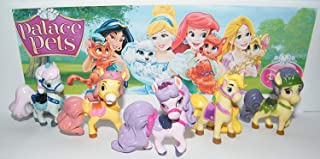 ATII Whisker Haven Tales with The Palace Pets Deluxe Mini Cake Toppers Cupcake Decorations Set of 12 with Figures, a Sticker Sheet and Toy Ring with Dreamy, Petite, Sultan and More