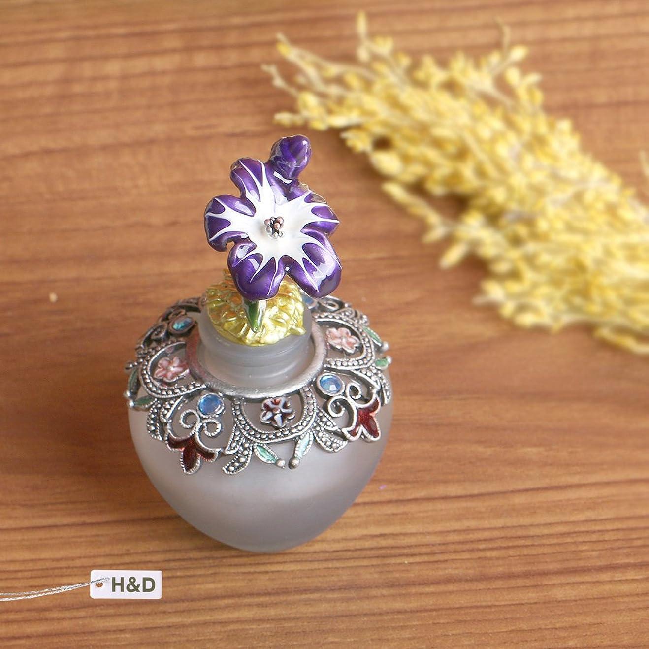 Hyaline&Dora 40ml クリスタル香水瓶 化粧水用瓶 空 フレグランスボトル 高級なプレゼント