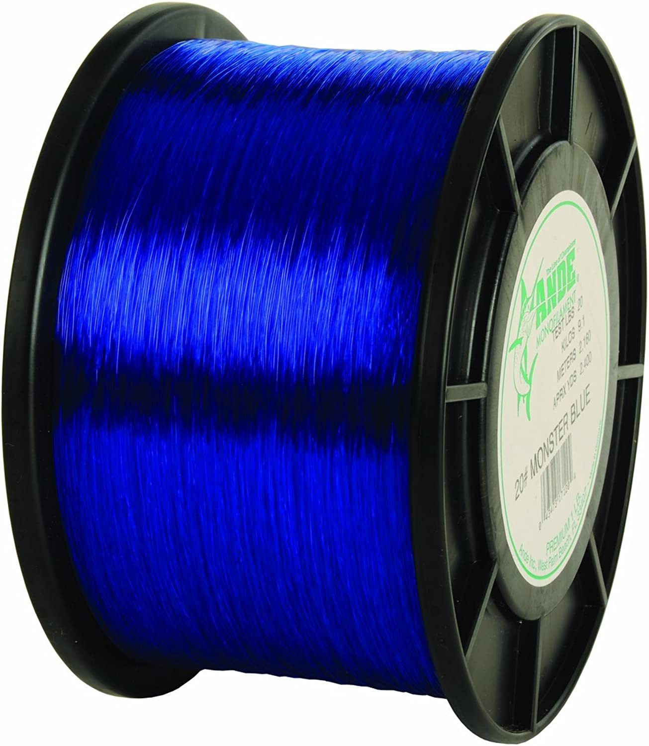 Ande Monster Fishing Lines, 1 lb  20 lb, blueee