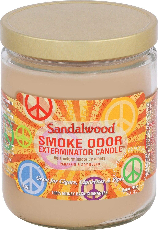 Recommendation Smoke Odor Exterminator 13 oz Jar 2 of Pack Sandalwood 5 popular Candles