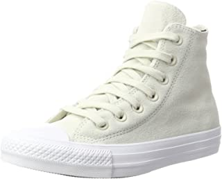 Unisex Adults' CTAS Buff/White Hi-Top Trainers