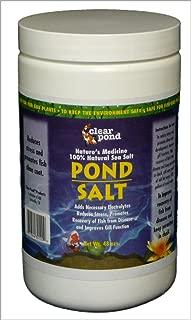 Clear Pond Pond Salt , 3-Pound Jar