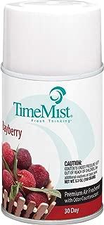 TimeMist 1042705EA Metered Fragrance Dispenser Refill, Bayberry, 5.3 oz, Aerosol