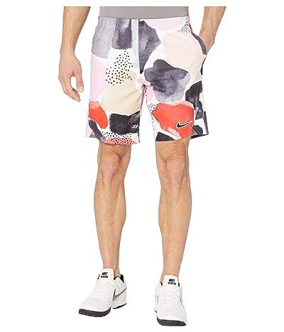 Nike NikeCourt Flex Ace Shorts Aop Mb Nt (White/Green/Off Noir) Men