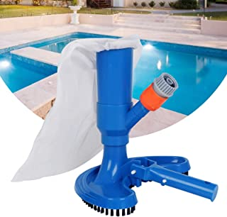 Swimming Pool Cleaning Tool - Professional Pond Jet Vacuum Brush Pool Brush Skimmer Cleaner Spa Tool Fast Cleaning Debris ...