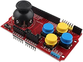 HALJIA Joystick Teclado Escudo Expansion eoard Juego Joystick de simulación de Teclado y ratón función Compatible con Ardu...