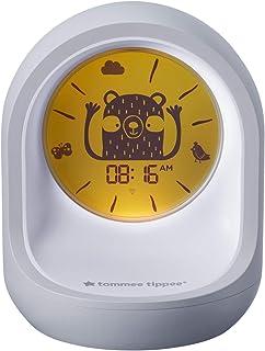 Tommee Tippee Sovtränarklocka, sömn- och sömnhjälpmedel med app för barn, vit 569 g