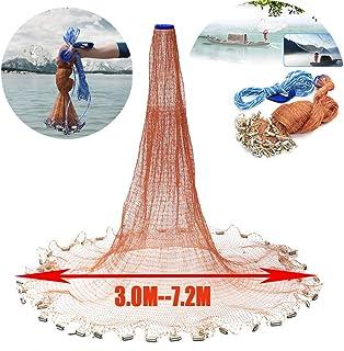 Zaoyun 3.0m-7.2m Redes de Pesca - Redes de Malla de Nylon