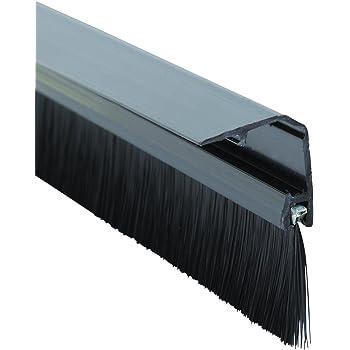 Burlete cepillo de PVC para puertas Stormguard
