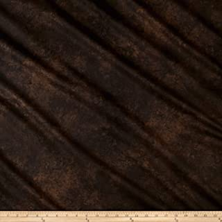 Maywood Studio High Country Crossing Granite Blender Fabric, Espresso Brown, Fabric By The Yard