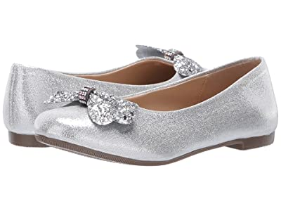 Kid Express Amilue (Toddler/Little Kid/Big Kid) (Silver Combo) Girls Shoes