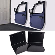 Ansite Door Hanger Storage Rack Bracket for Jeep Wrangler CJ YJ TJ LJ JK JKU JL