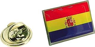 Pin de Solapa de la Bandera de la II República Española