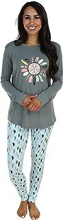 Sleepyheads Women's Sleepwear Knit Longsleeve Top and Leggings Pajamas PJ Set