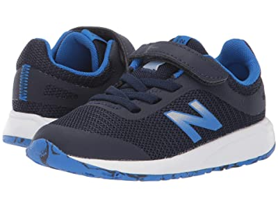New Balance Kids 455v2 (Infant/Toddler) (Navy/Vivid Cobalt) Boys Shoes