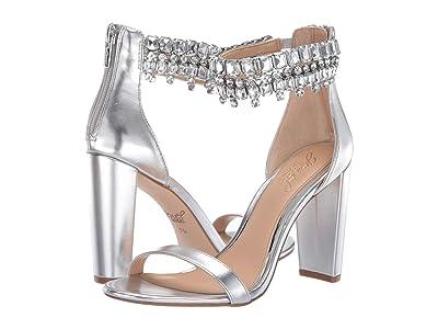 Jewel Badgley Mischka Dancer (Silver) High Heels