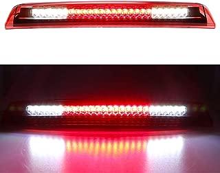for 2004-2015 Nissan Titan 2005-2016 Nissan Frontier LED 3rd Third Brake Light Cargo Light High Mount Lamp (Red Lens)