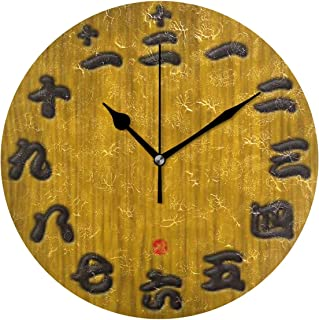 MIKA 掛け時計 置時計 掛け置き両用 壁掛け 時計 音がしない 掛置兼用 連続秒針 おしゃれ プレゼント 結婚祝い 内祝い 誕生日 新築祝い 日本漢字 スタイル