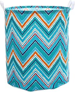 XIMIXI Linen Fabric Collapsible Storage Box Bin Laundry Basket Organizer Hamper
