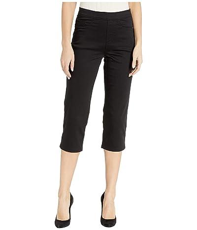 FDJ French Dressing Jeans D-Lux Denim Pull-On Capris in Ebony (Ebony) Women